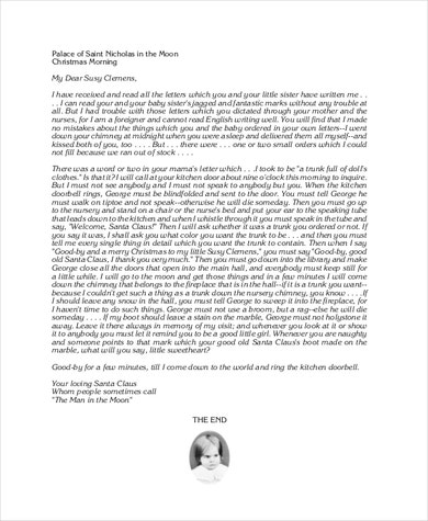Touching letter from the North Pole