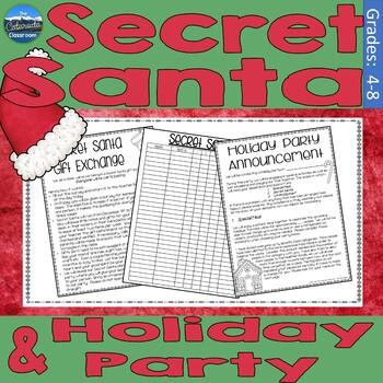 Secret santa forms ppt